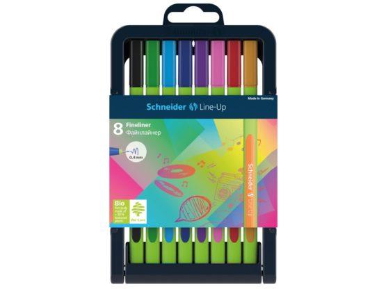 Set Liner Schneider Line-Up 8 culori
